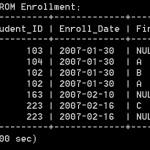 Lab3: Enrollment_Table
