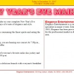 Lab 6: New Year Eve